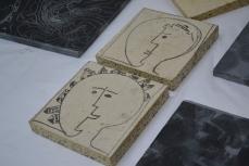 contemporary print permanent print refractory concrete printsy mposium uclan Rudi Bastiaans 4
