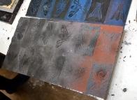 contemporary print permanent print refractory concrete uclan kathryn poole vinyl